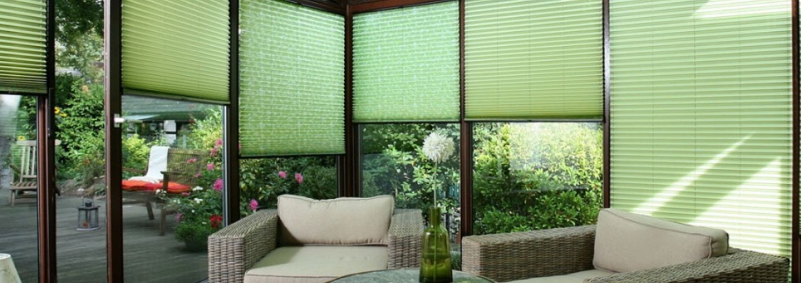 Pleated blinds system Cosiflor