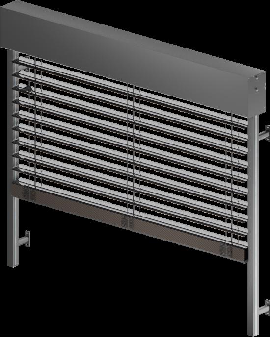 Solar ( Sun ) protection systems -> Facade blinds (venetian) blinds Z 90 SELT   ZALUZI.lv