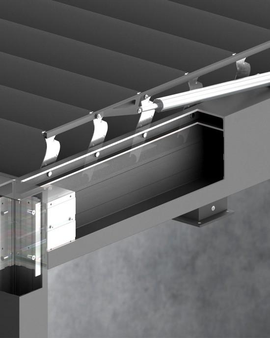 Solar ( Sun ) protection systems -> Pergola SB 500 SELT   ZALUZI.lv