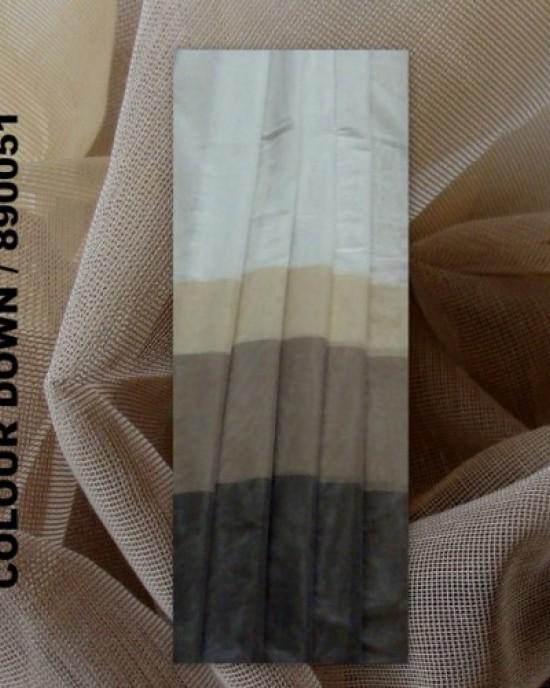 CURTAIN FABRIC COLOUR DOWN / 80051