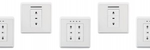 Switches with built-in receiver